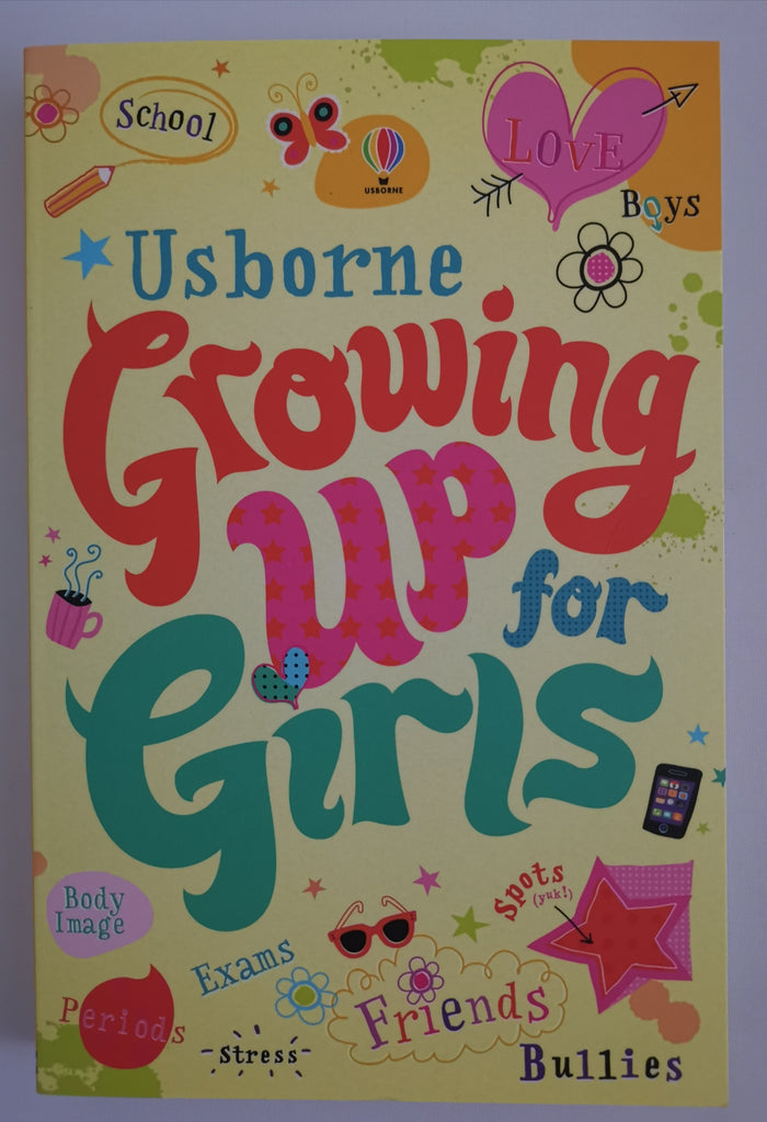 Usborne: Growing up for Girls Paperback by Alex Frith New!!!!! - Children Store Co.