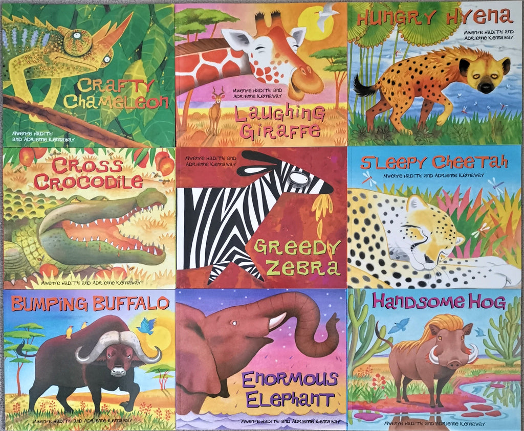 Kids/Children African Animal Tales Paperbacks 10 books set collection Mweny Hadithi Brand New!!!