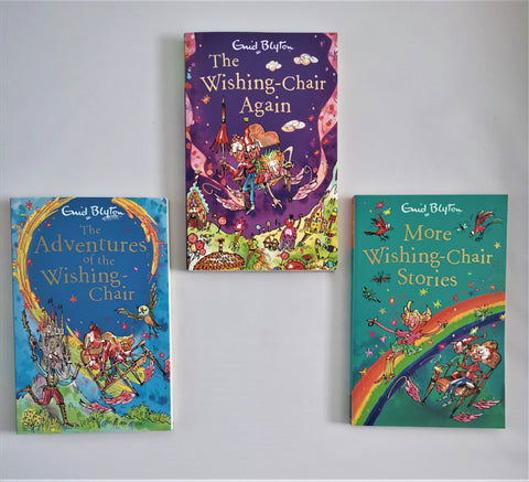 Enid Blyton The Wishing Chair 3 books Collection Paperback Egmont Brand New - Children Store Co.