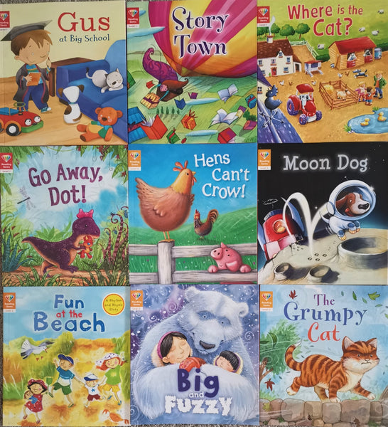 Reading Gems Reading books Level 1 & 2 for Children Pre School & Reception Ages 3+ - Children Store Co.