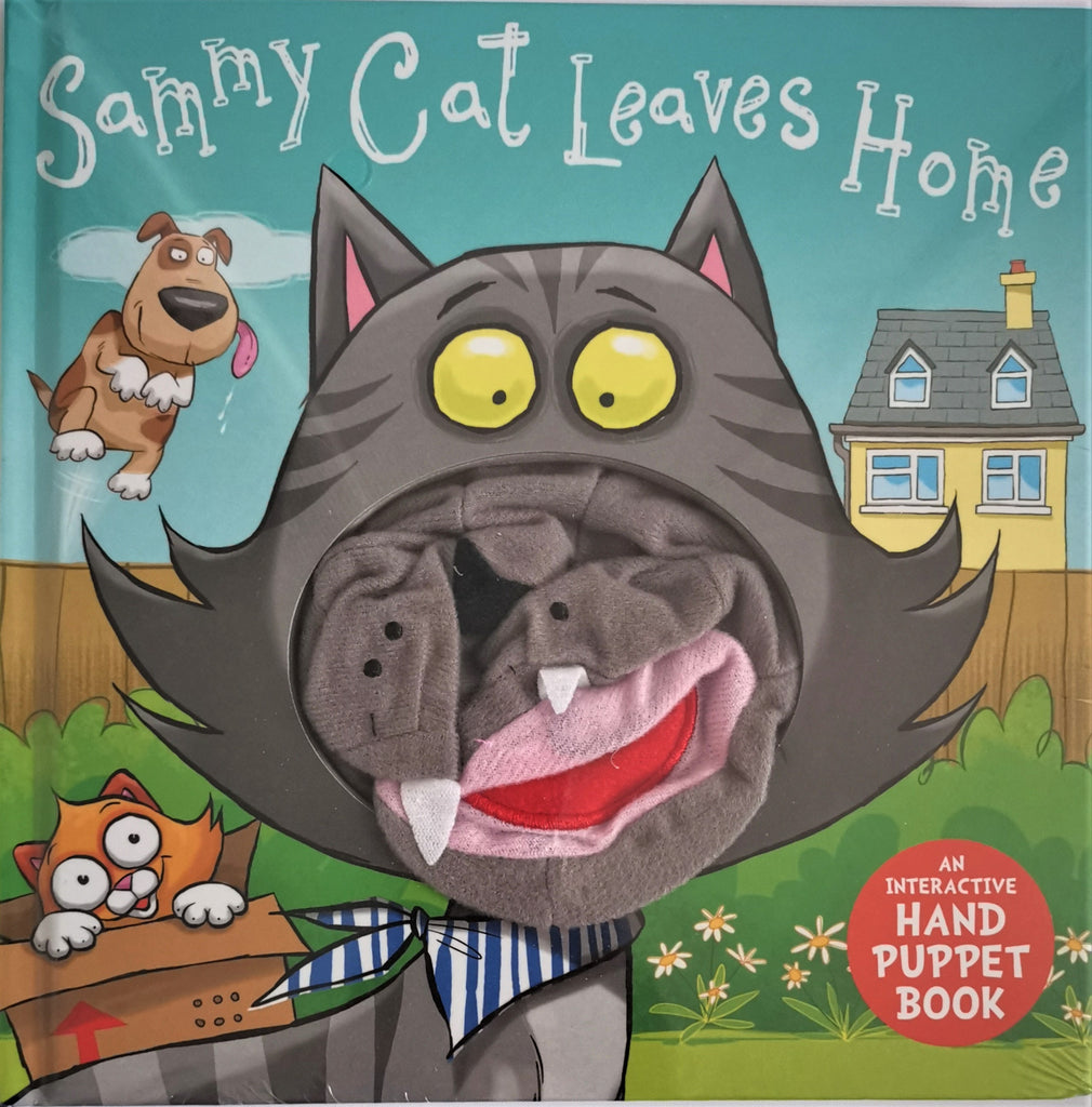 Baby/Kids Sammy Cat Hand Puppet Board book Ages 0+New - Children Store Co.