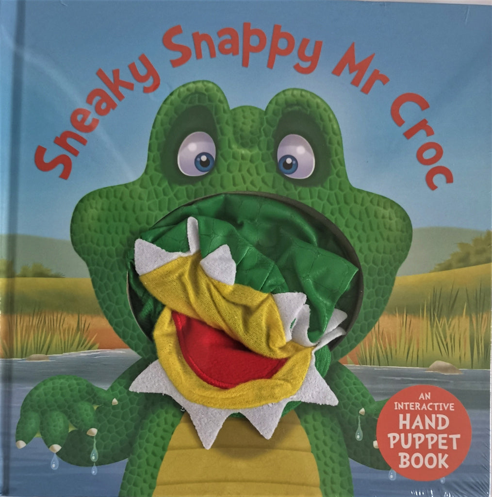 Baby/Kids Sneaky Snappy Mr Croc Hand Puppet Board book Ages 0+New - Children Store Co.