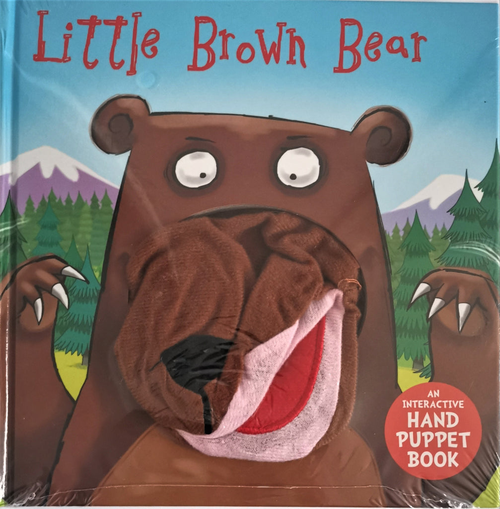 Baby/Kids Little Brown Bear Hand Puppet Board book Ages 0+New - Children Store Co.