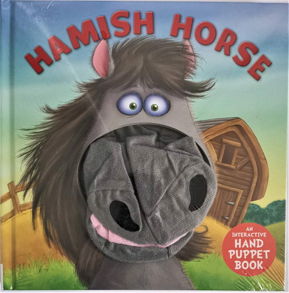 Baby/Kids Hamish Horse Hand Puppet Board book Ages 0+New - Children Store Co.