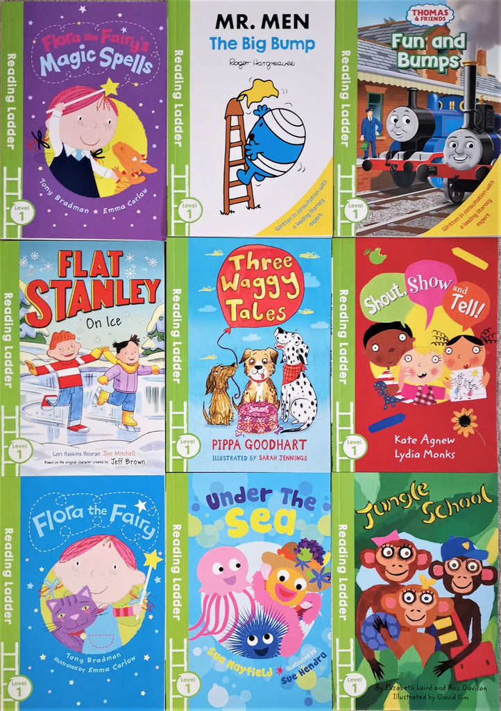 Children Reading Ladder Level 1 10 books collection Ages 4+ Paperback Brand New - Children Store Co.