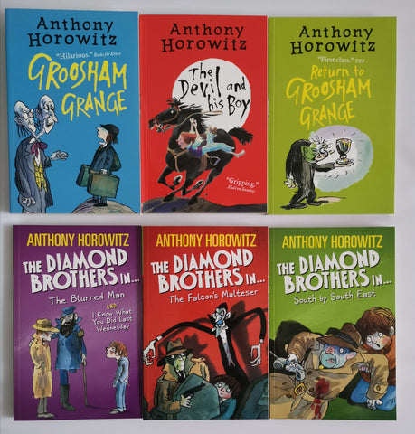 Anthony Horowitz Wickedly Funny 7 Books Set - Children's Fiction - Paperback Ages 8+ - Children Store Co.