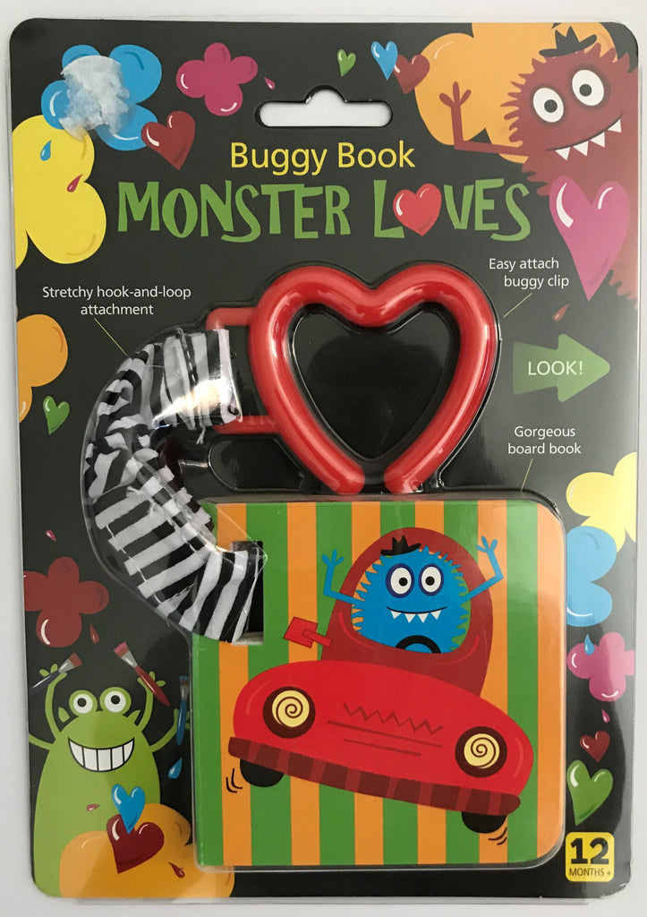 Baby Monster Loves Buggy book Hardback NEW!!!!! - Children Store Co.