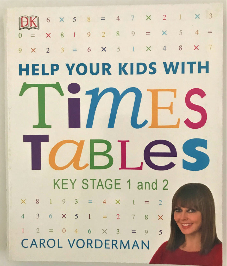 Help your kids with Time Tables KS1 & KS2 - Children Store Co.