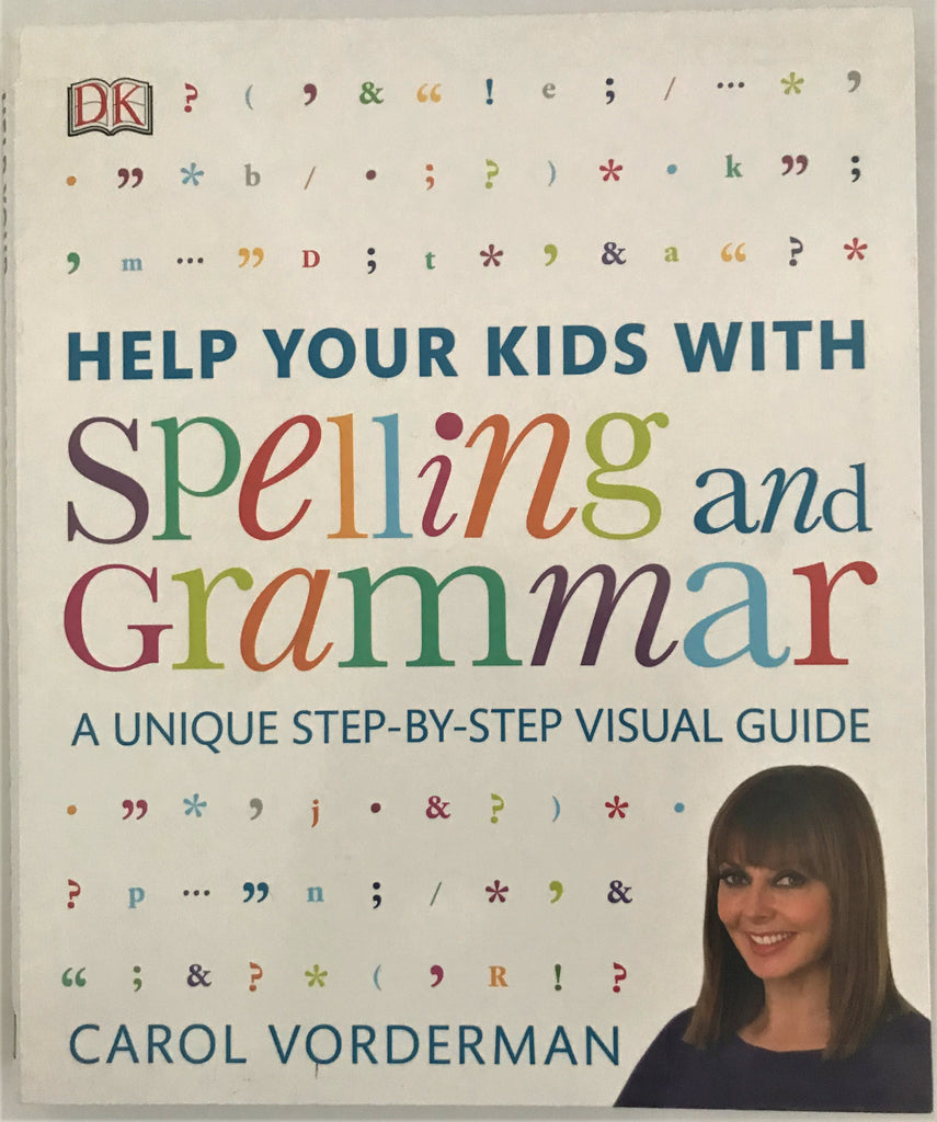 Help your Kids with Spelling and Grammar by Carol Vorderman New!!!! - Children Store Co.