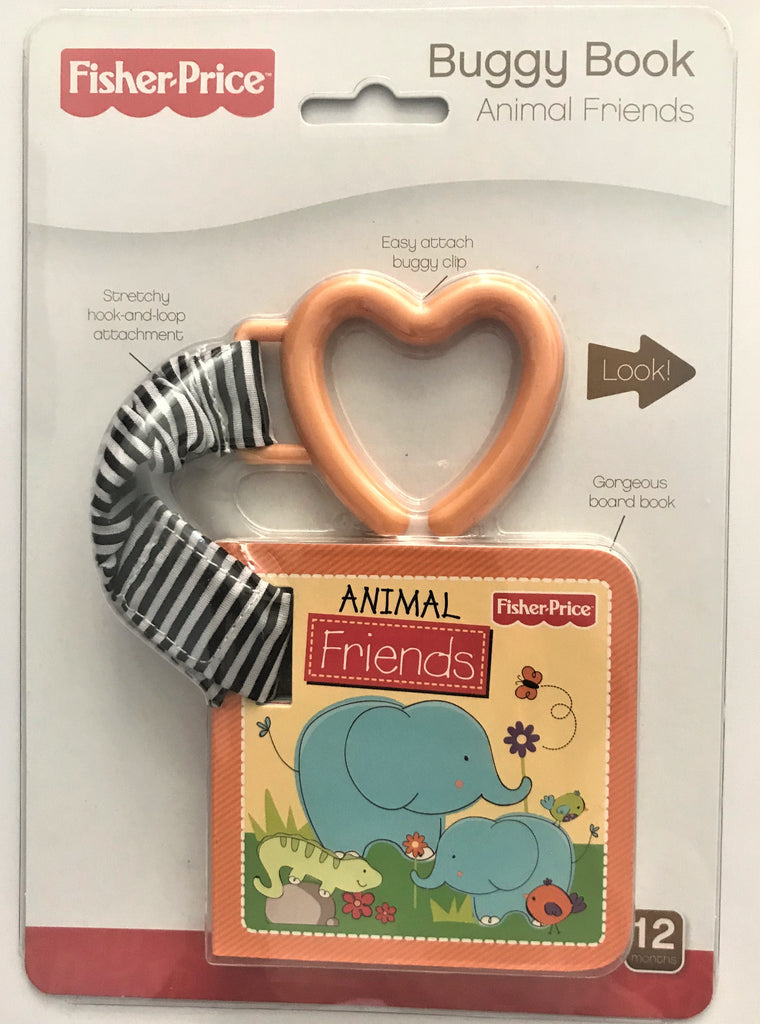 Fisher Price Baby Buggy book Animal Friends NEW!!!!! - Children Store Co.