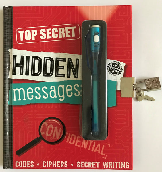 Top Secret Hidden Messages Diary NEW!!! - Children Store Co.