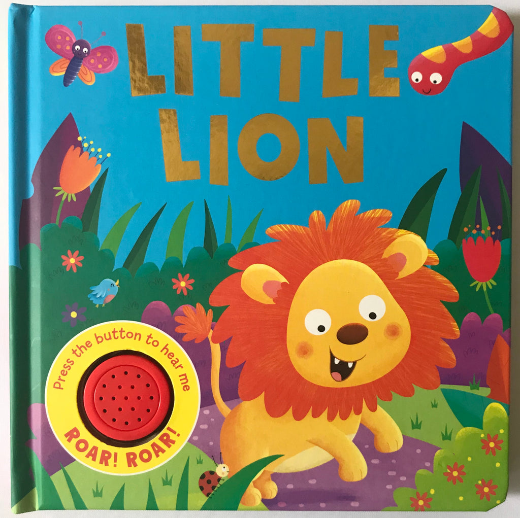 Baby/kids Little Lion Sound book NEW!!! - Children Store Co.