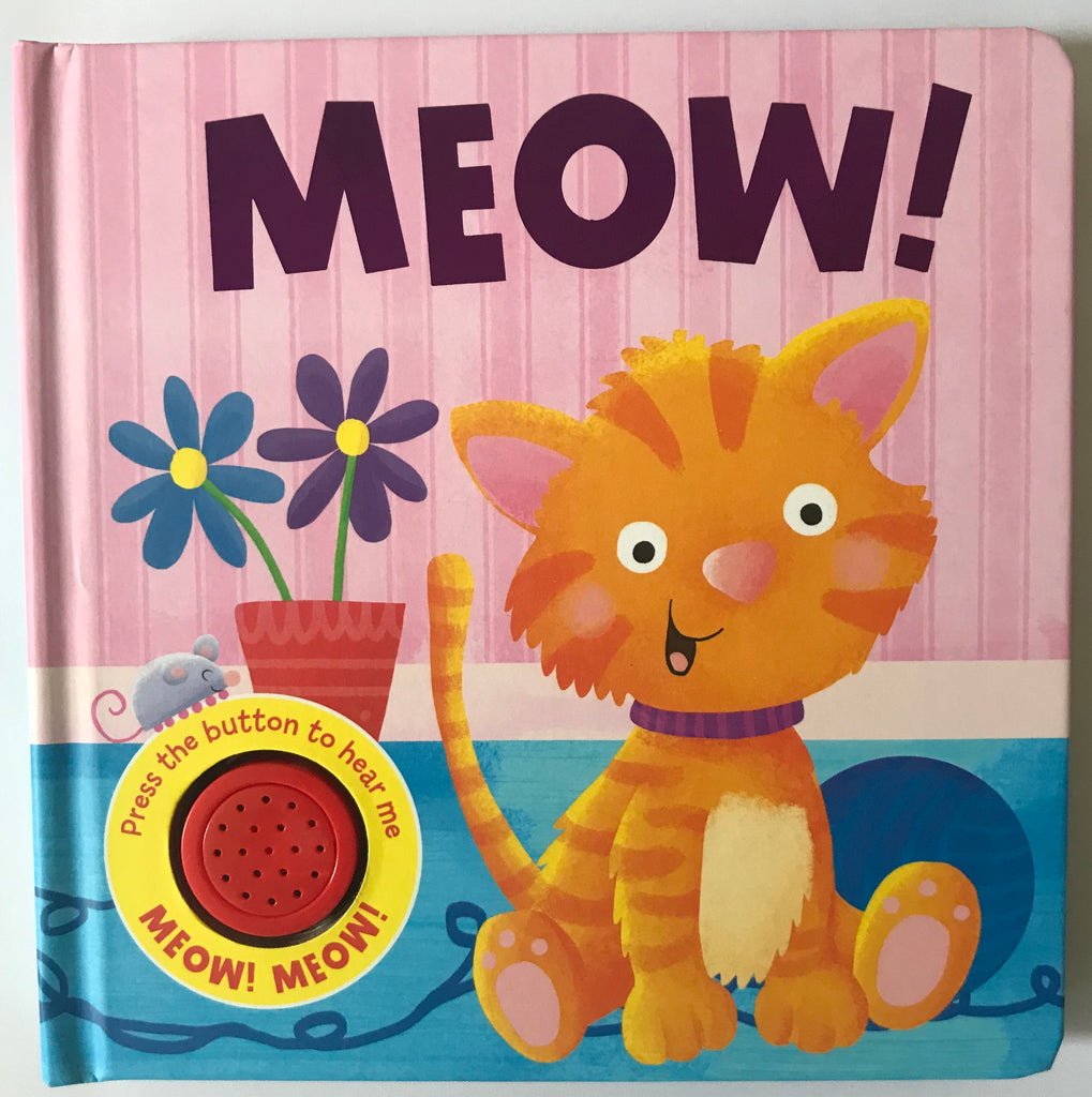 Baby/kids MEOW Sound book Like NEW!!! - Children Store Co.