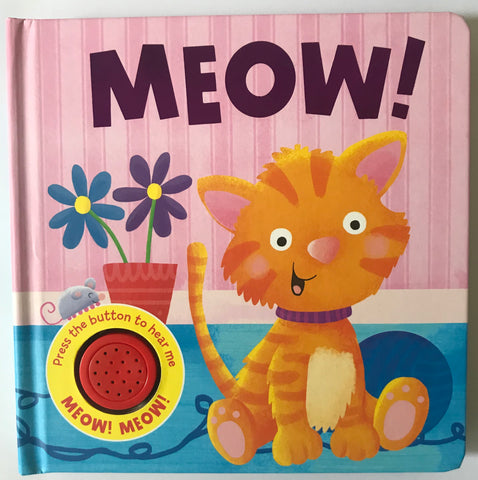 Baby/kids MEOW Sound book NEW!!! - Children Store Co.