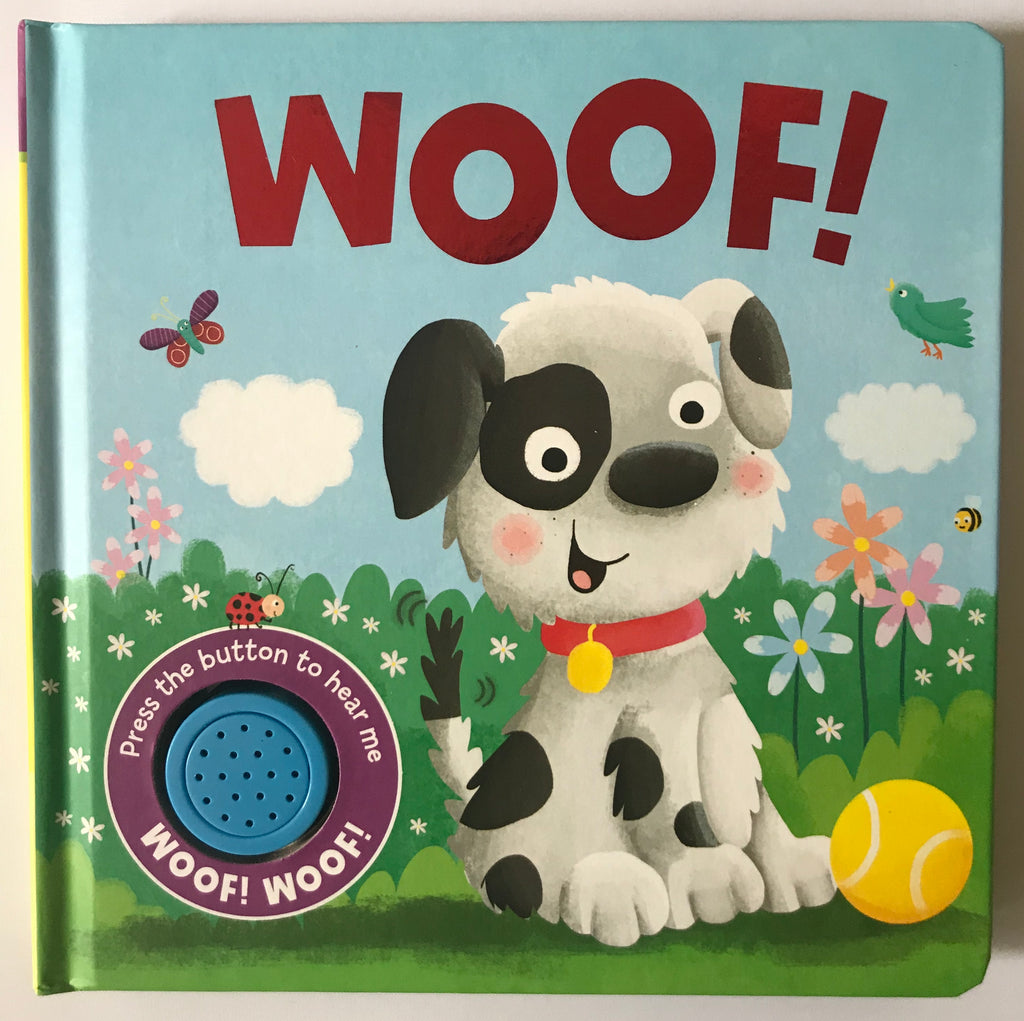 Baby/kids WOOF Sound book NEW!!!