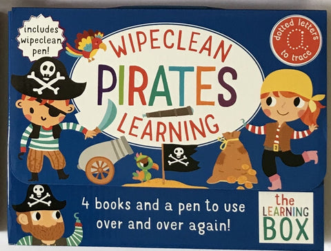 Pre-School / Reception Kids Pirates wipe clean Learning Pack Ages 3+ - Children Store Co.