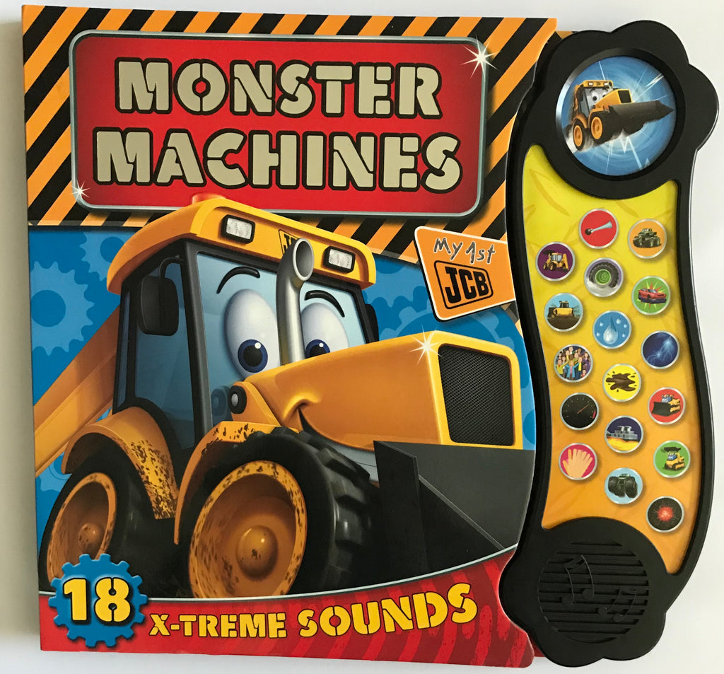 Mega Sounds Monster Machines 18 Button Sound book HARDBACK - Children Store Co.