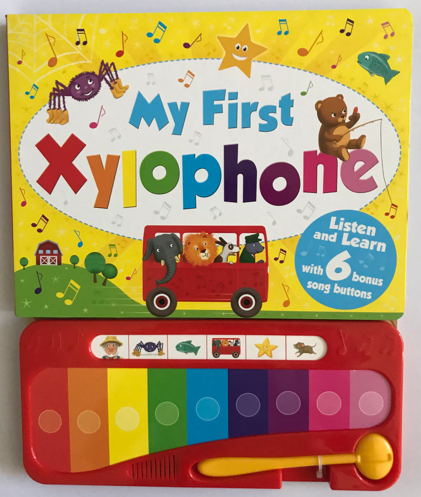 My First Xylophone Sound book HARDBACK - Children Store Co.