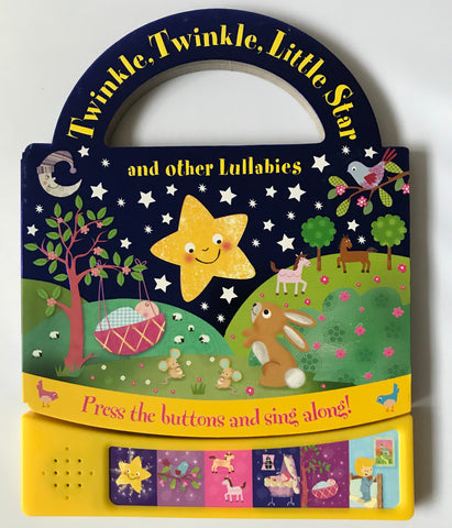 Carry along sound book Twinkle Twinkle Little Star and other Lullabies - Children Store Co.
