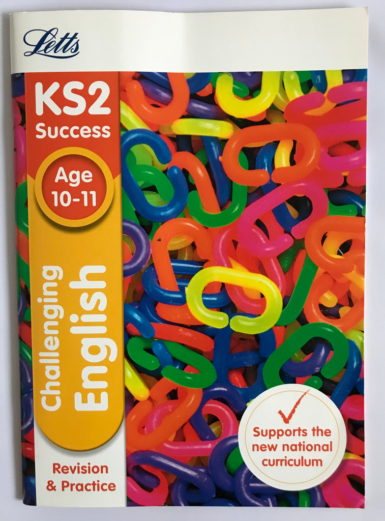 Letts ks2 Challenging English (ages 10-11) NEW!!
