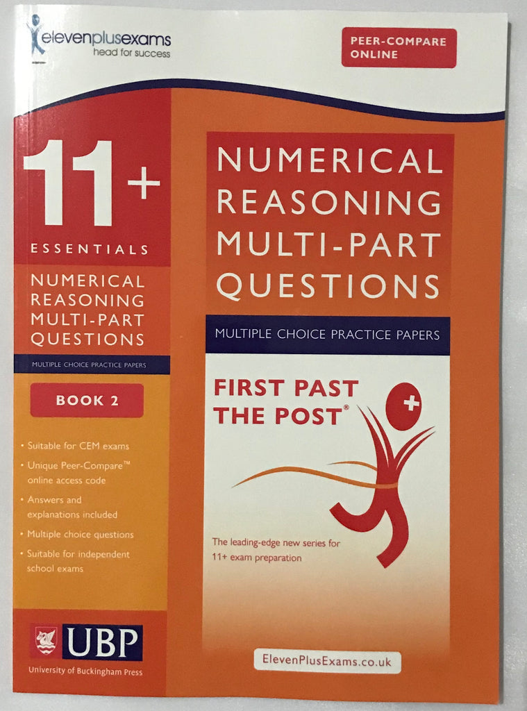11+ Essentials Numerical Reasoning: Multi part Questions Book 2 - Children Store Co.
