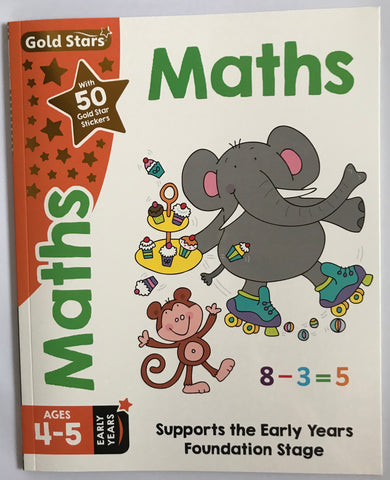 Goldstars Maths Educational Workbook Ages 4-5 - Children Store Co.