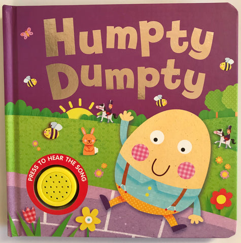 Baby/Kids Humpty Dumpty Sound book hardback NEW!!!