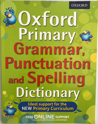 Oxford School Grammar & Punctuation Dictionary KS2 Ages 7+ - Children Store Co.