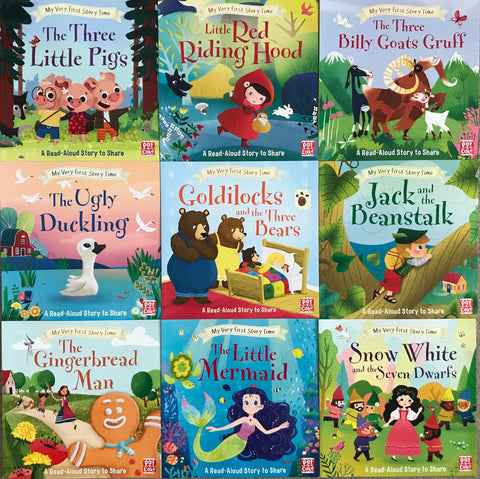 My Very First Storytime Collection (10 books set) Picture Flats Paperback Ages 2+ NEW - Children Store Co.