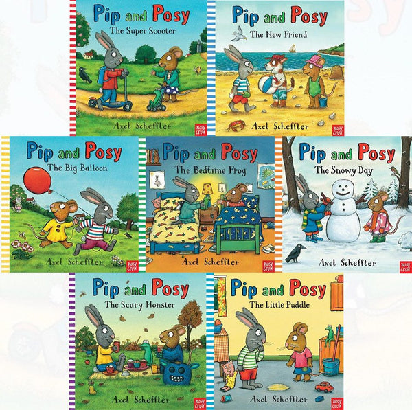 Kids / Children Pip & Posy 7 books collection Picture Flat By Axel Scheffler Paperback Ages 2+ New!!! - Children Store Co.