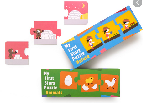 My first Story Puzzle Nature & Animals for Toddlers Ages 2+ - Children Store Co.