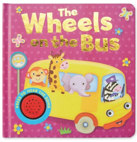 Wheels on the bus One Button Sound book NEW EDITION!!! - Children Store Co.