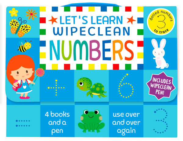 Reception / KS1 Kids Lets Learn Numbers Wipe clean Learning Pack Ages 4+ - Children Store Co.