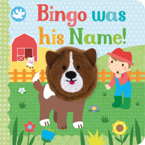 Baby/Kids BINGO WAS HIS NAME! FINGER PUPPET BOOK