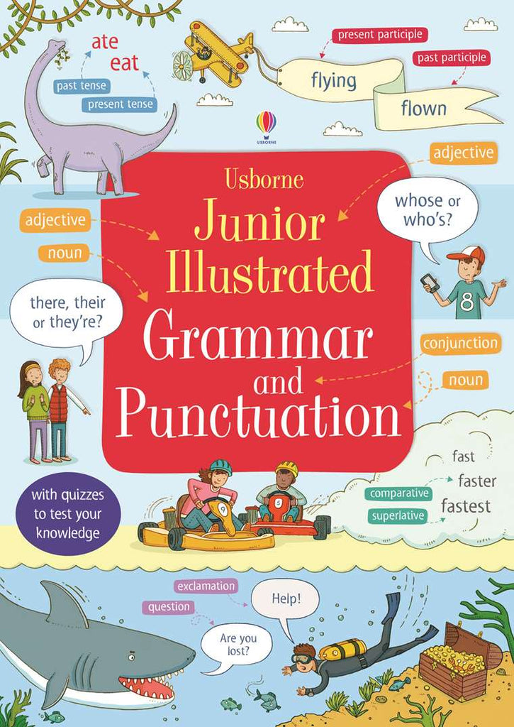 Kids/Children Usborne Illustrated Grammar & Punctuation Dictionary Ages 7+ Paperback - Children Store Co.