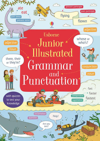 Usborne Illustrated Grammar & Punctuation Dictionary Ages 7+ - Children Store Co.