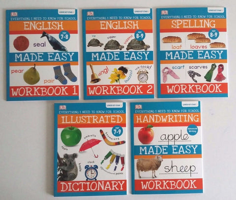 English Made Easy Key Stage 2 (set of 5 books) New!!!! - Children Store Co.
