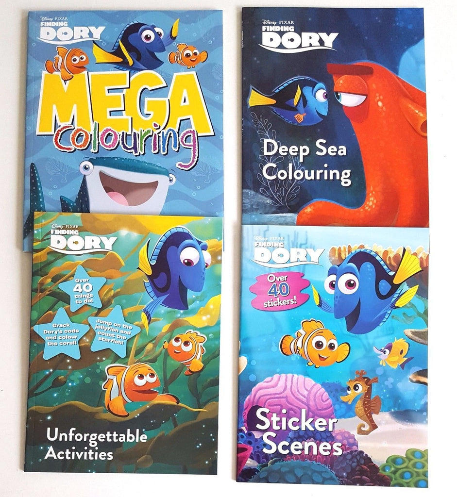 Finding Dory: Activity Book Collection - 4 Books - Children Store Co.