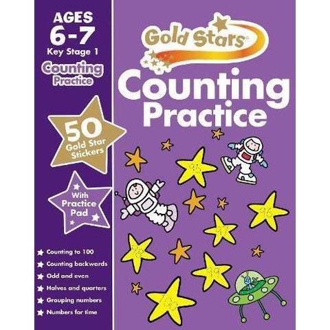 Goldstars Counting Practice Ages 6-7 Brand New!!!! - Children Store Co.