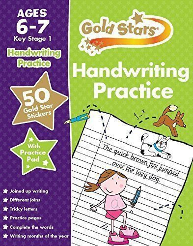 Goldstars Handwriting practice workbook Ages 6-7