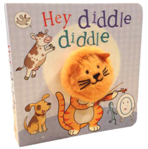 baby/kids HEY DIDDLE DIDDLE FINGER PUPPET BOOK - Children Store Co.
