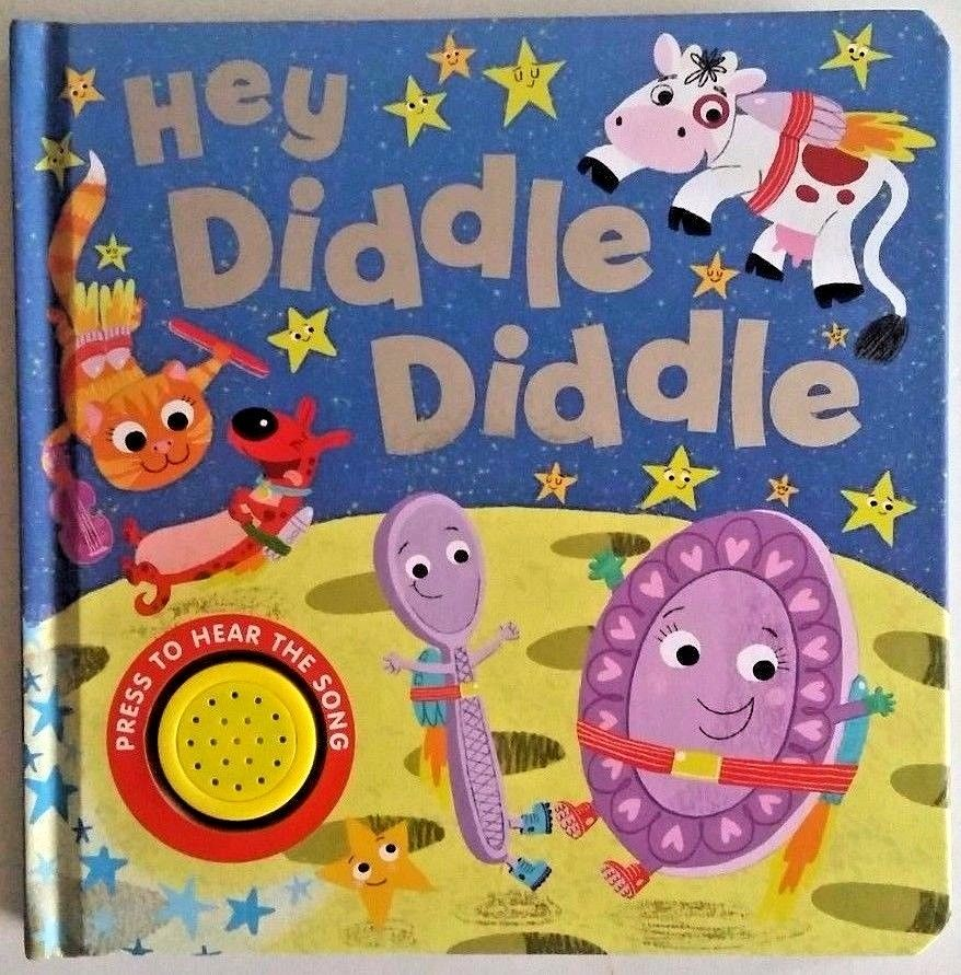 Baby/Kids Sound book Hey Diddle Diddle hardback NEW!!! - Children Store Co.