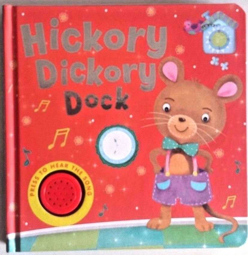 Baby/Kids Sound book Hickory Dickory hardback NEW!!! - Children Store Co.