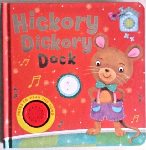Baby/Kids Sound book Hickory Dickory hardback NEW!!!