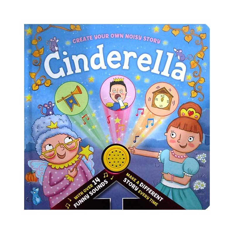 Baby / Kids Cinderella 14 funny sounds Hardback book NEW!!! - Children Store Co.
