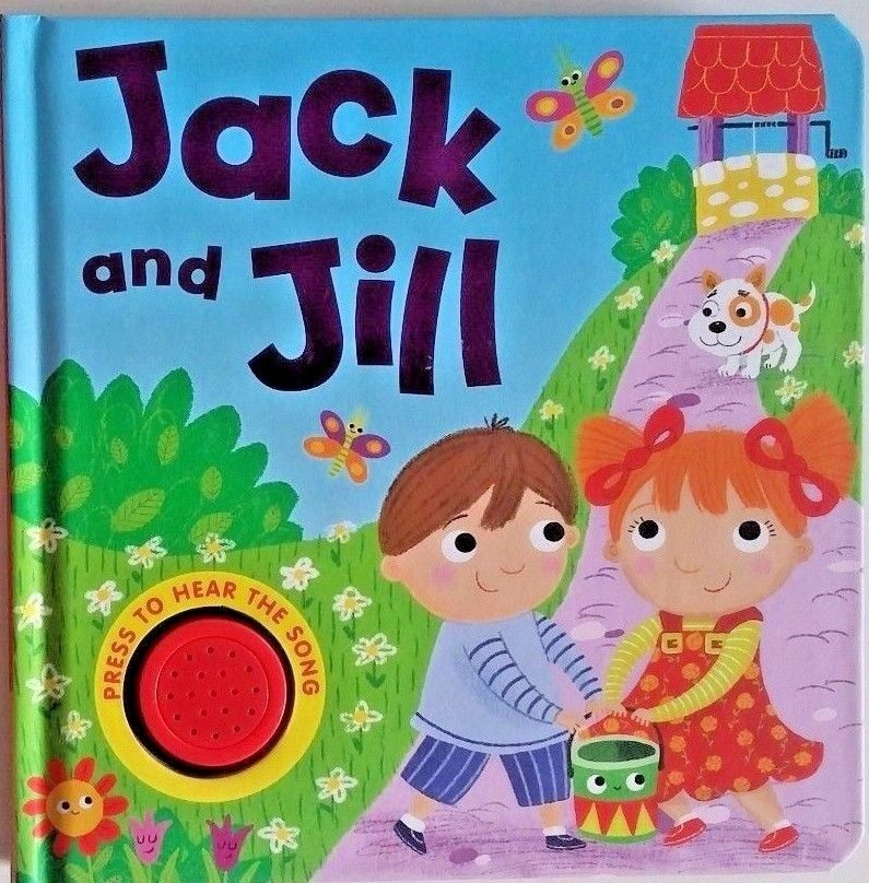 Baby/Kids Sound book Jack & Jill hardback NEW!!!