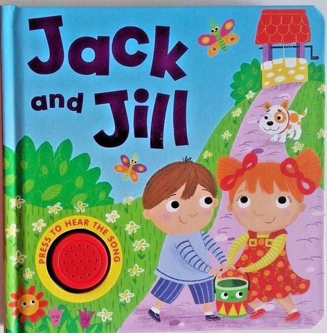 Baby/Kids Sound book Jack & Jill hardback NEW!!! - Children Store Co.