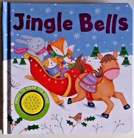 Baby/Kids Sound book Jingle Bells hardback NEW!!! - Children Store Co.