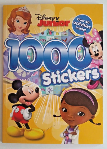 Disney Junior 1000 Stickers Book (NEW)!!!!