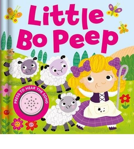 Baby/Kids Sound book Little Bo Peep hardback NEW!!!